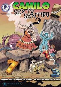 Cómic Camilo Sexto sentido Volumen 1