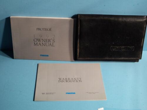 92 1992 Mazda Protege owners manual