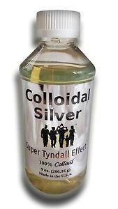 Colloidal silver capsules