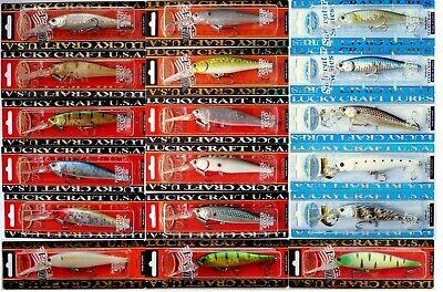 Japan Wobbler Köder Hecht Lucky Craft Pointer 128 SR Angeln Raubfische