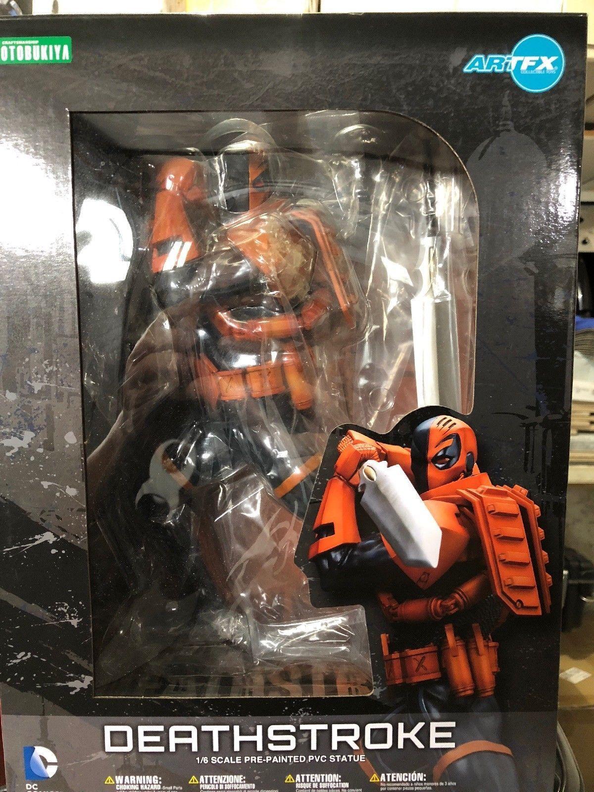Kotobukiya neuen 52 dc comics  deathstroke artfx statue
