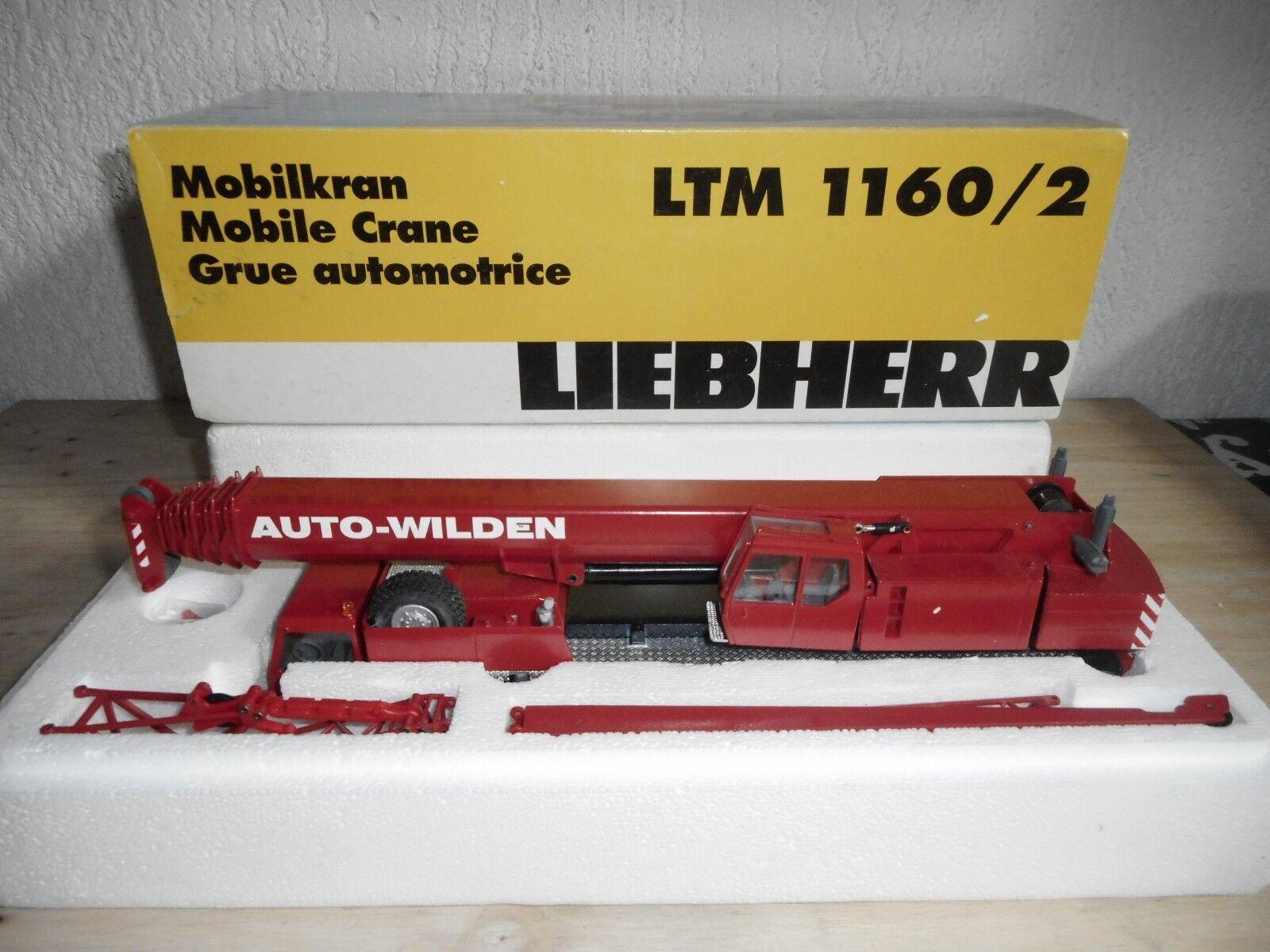 CONRAD LTM 1160 2 LIEBHERR   AUTO WILDENE   1 50 NEUF  BOITE