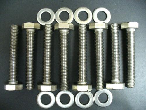 Ford 7.3 L Powerstroke diesel exhaust manifold Stainless Steel Bolt Kit F250 350