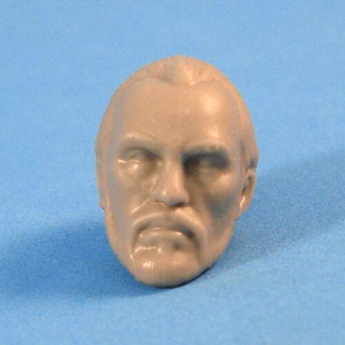 "MH076 Custom Cast Male head use with 3.75/"" GI Joe Star Wars Marvel figures"