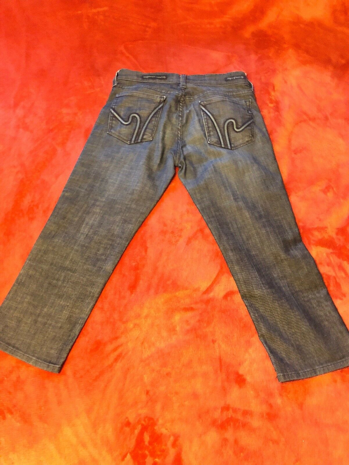 Citizens of Humanity Cropped Kelly 254 Wimbledon Stretch Jeans Size 27
