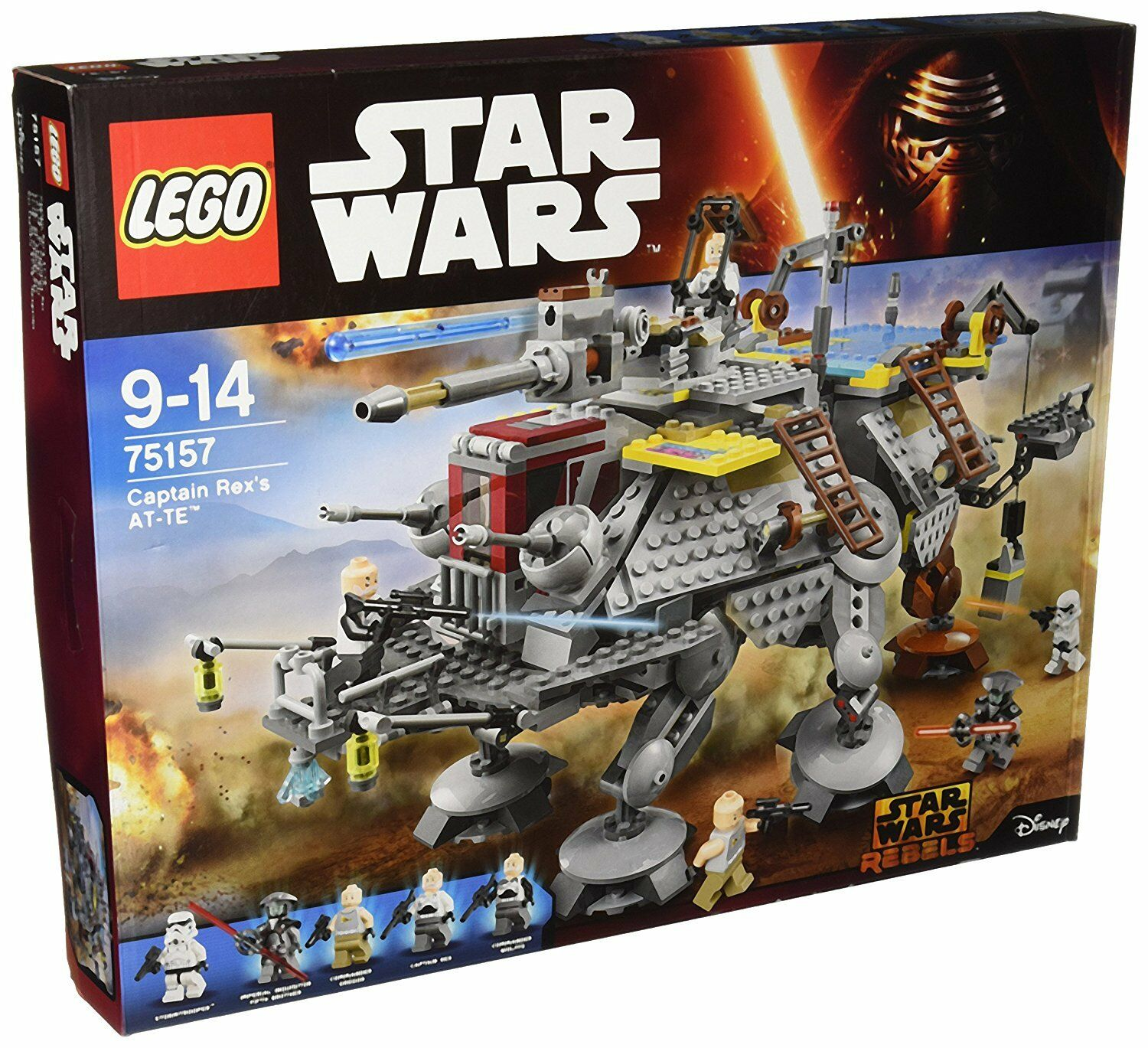 LEGO ® 75157 Star Wars Capitaine Rex's at-te NEUF neuf neuf neuf dans sa boîte NEW SEALED 054d54