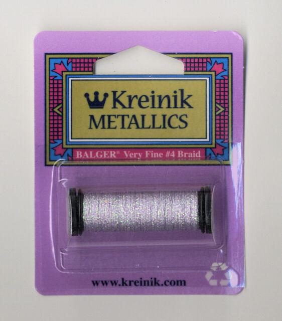 12-Yard Kreinik No.4 Very Fine Metallic Craft Braid Gold Coin