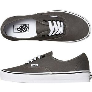 Vans Authentic Grigio Pewter/Black VN0 JRAPBQ