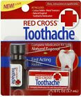 in Stock Red Cross Toothache Complete Medication Kit 3.7ml Eugenol 85