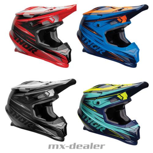 2019 Spring Thor MX Sector Warp alle Helm Crosshelm MX Motocross Cross Quad