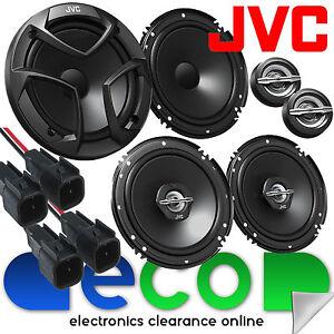 Ford-Fiesta-MK5-02-08-Front-amp-Rear-Side-JVC-1200-Watts-Car-Speakers-Upgrade-Kit