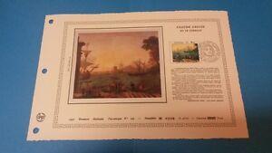 FRANCE DOCUMENT ARTISTIQUE YVERT 2211 CLAUDE GELLEE PEINTRE CHARMES 1982  L616