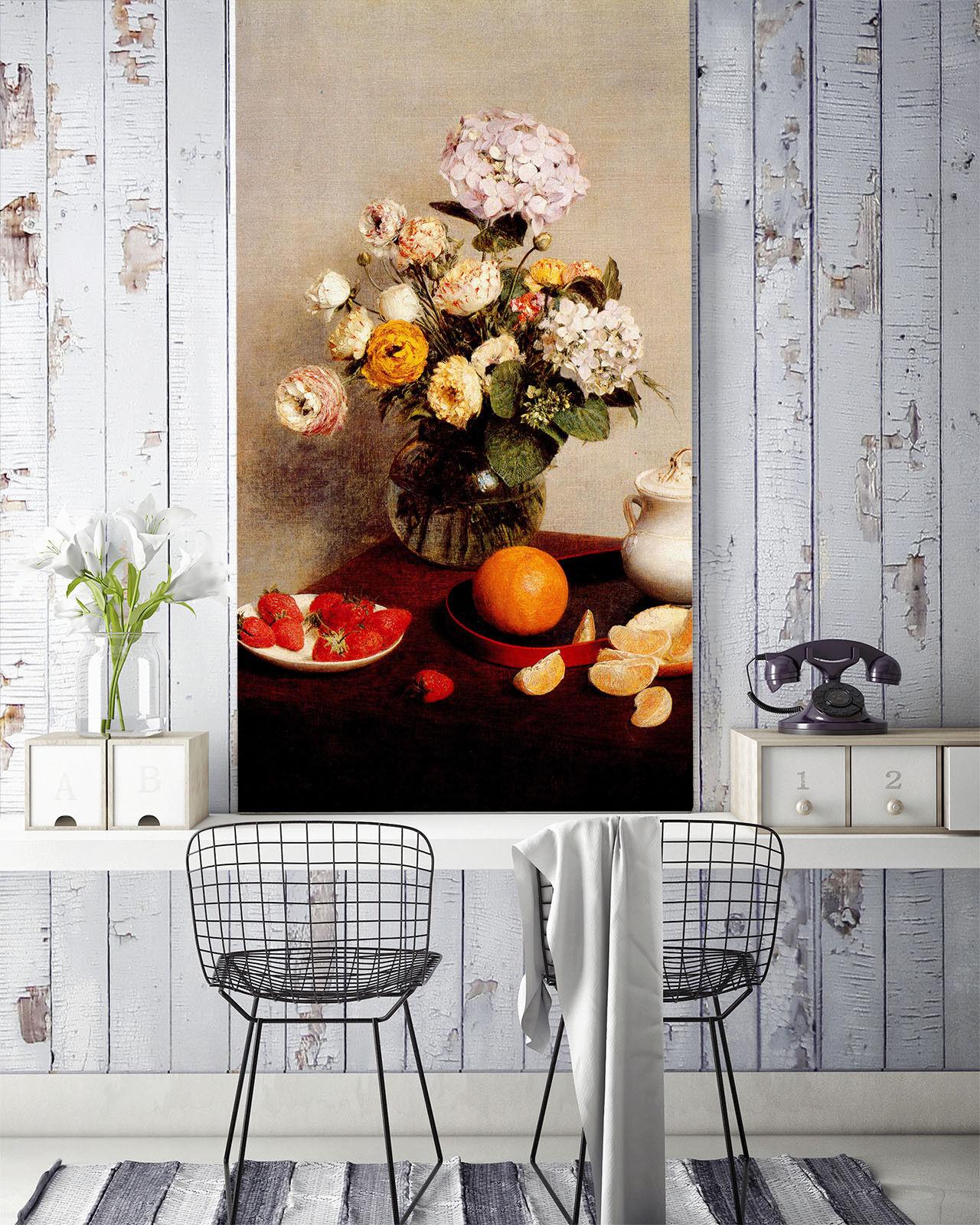 3D Bouquet Fruit 54 Wallpaper Murals Wall Print Wallpaper Mural AJ WALL AU Kyra