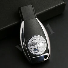 AMG Sz L 25mm Alloy Silver KEY FOB Button 1 Pcs Sticker Badge Decal for Mercedes