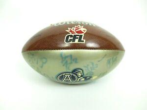 WILSON-CFL-Toronto-Argonauts-Argos-Signed-Official-Football-Ball