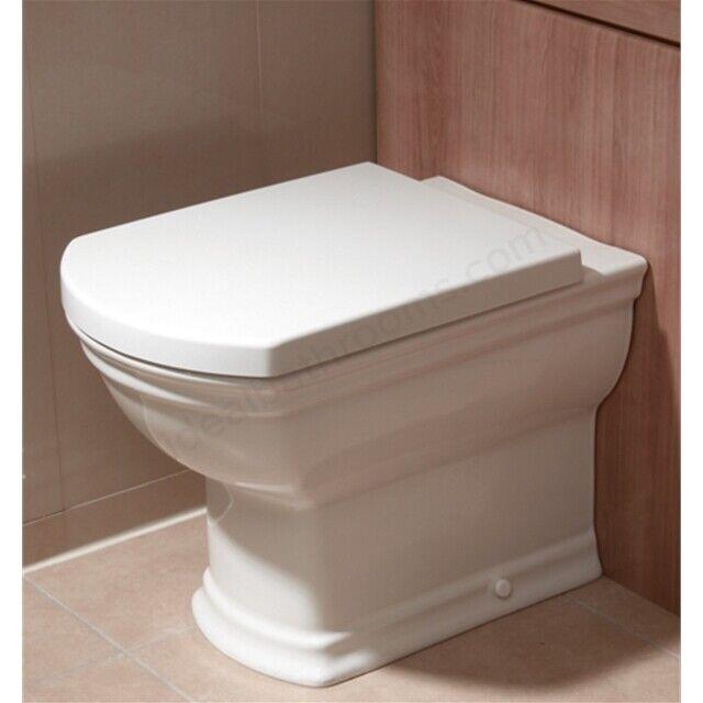 Vitra Serenada Toilette Siège et couvercle soft close Standard-Blanc