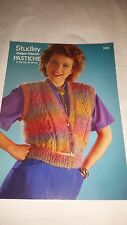 Vintage/Retro Knitting Pattern Studley  Waistcoat 1403