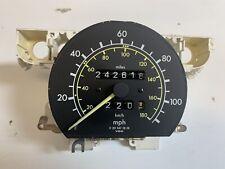 Mercedes W201 190d 22 Speedometer Odometer 120 Mph