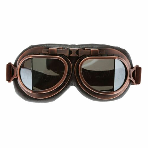 Anti Dust Wind UV Outdoor Sports Protective Copper Glasses Motorcycle Goggles
