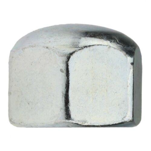 Form niedr Stahl galv 10x DIN 917 Sechskant-Hutmutter M 8 verzinkt farblos