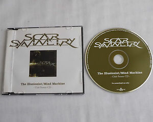 SCAR-SYMMETRY-The-illusionist-GERMANY-2-tks-PROMO-CD-NUCLEAR-BLAST-NB-1667-2