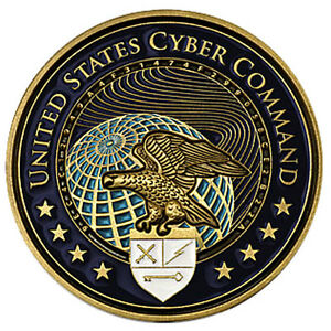 United States Cyber Command Challenge Coin Uscybercom