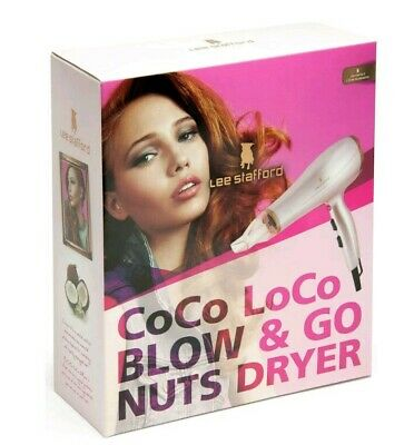Lee Stafford CoCo LoCo Small Compact Travel Professional Hair Blow Dryer LSGS24