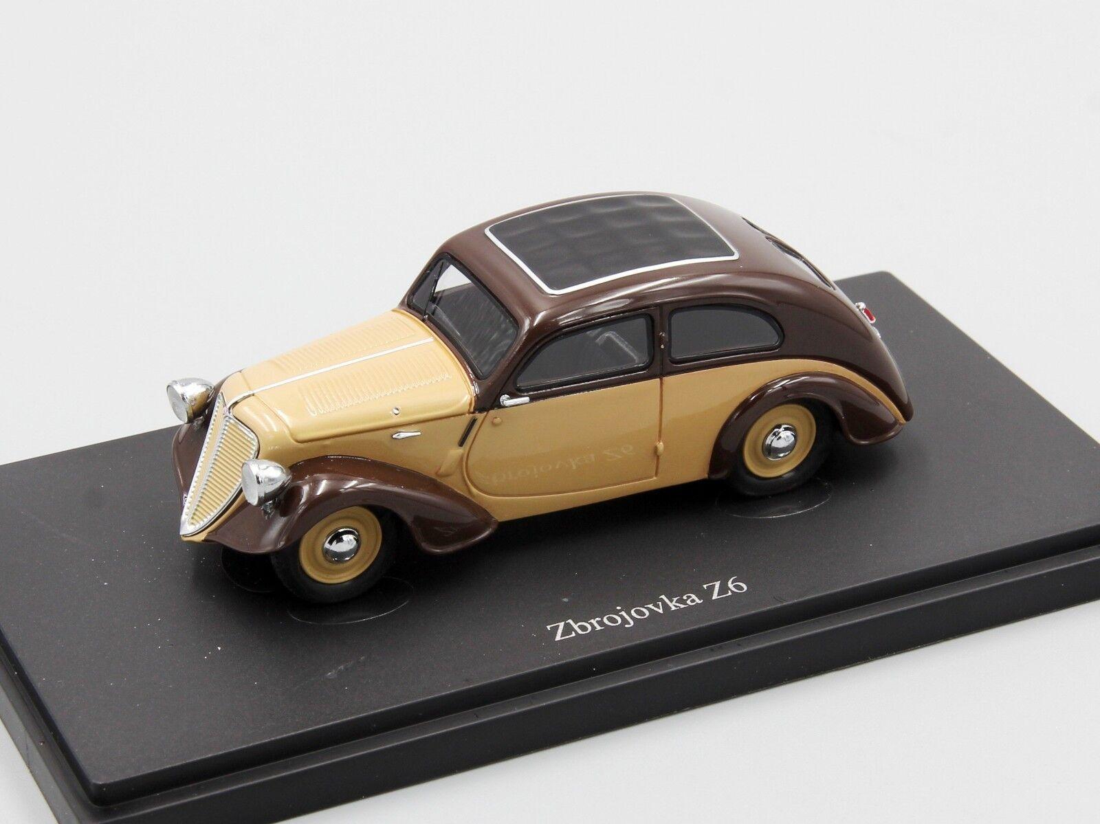 Autocult 1 43 Zbrougevka Z6, ivoire-marron, République tchèque, 1935