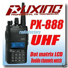 Puxing PX-888 UHF +400-480Mhz  + Earpiece ( KG-689 )