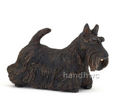 Papo 54032 Black Scottish Terrier Dog Model Toy Figurine Replica 2014 - NIP