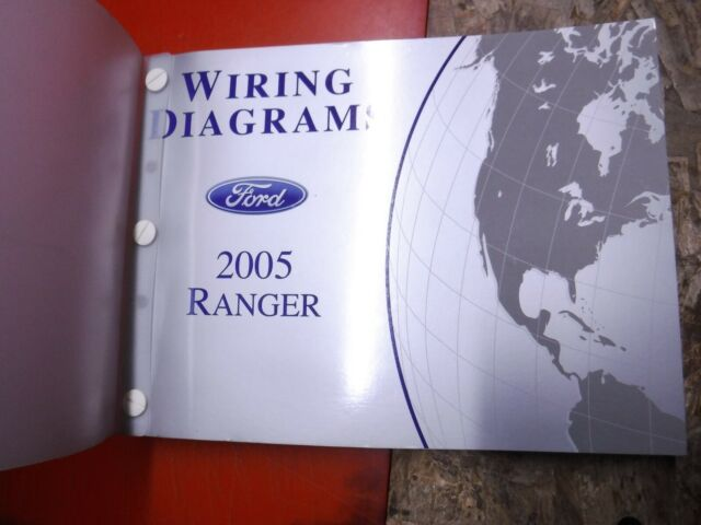 2005 Ford Ranger Truck Original Factory Wiring Diagrams