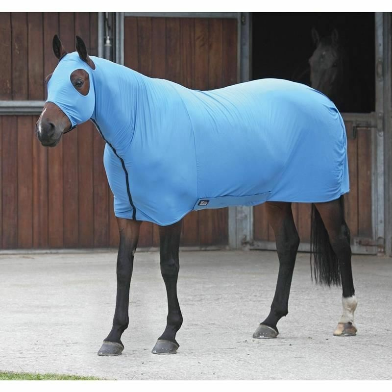 Shires Stretch Body Rug - bluee - Extra Full - BN