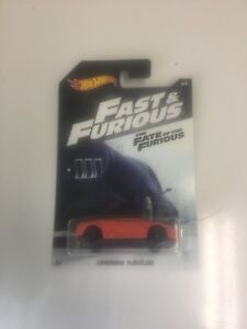 2018 Hot Wheels Fast /& Furious #6 Lamborghini Murcielago The Fate of The Furious