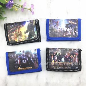 Avengers Super Hero Boys Children Kids Cartoon Character Wallet Coin Purse Toy
