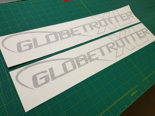 Volvo 460 FH13 XL Globetrotter side roof 1100mm x2  Decals Stickers all colours
