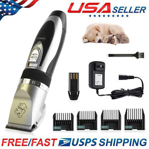 NEW-Electric-Animal-Pet-Dog-Cat-Hair-Trimmer-Shaver-Razor-Grooming-Quiet-Clipper