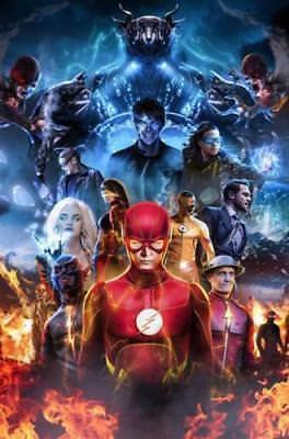 Fonkelnieuw Art Poster The Flash TV Series Superhero Season 3 Hot Silk 30 40 JN-67