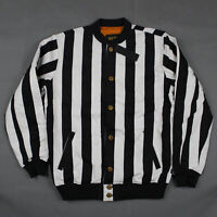 10.deep The Striped Varsity Jacket In Black & White Stripe 10 Deep Free Ship