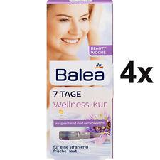 4 Packs Balea 7 Day Spa Treatment Wellness Ampoules