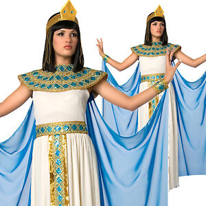 Ladies Womens Cleopatra Fancy Dress Costume Queen of the Nile ... 0d0bcda7d3bf