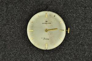 Running Can Be Repeatedly Remolded. Vintage Men's Hamilton Wrist Watch Movement Cal 687a Antique