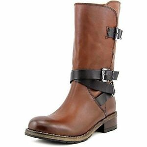 Bikers pierna 41 Ladies Volara 7 Rust Leather Bota Clarks Uk Melody media xf5Tww