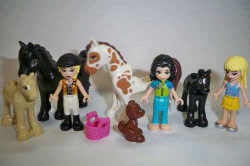 8 Stück Fohlen Pferde Lego Friends ** 6 Figuren