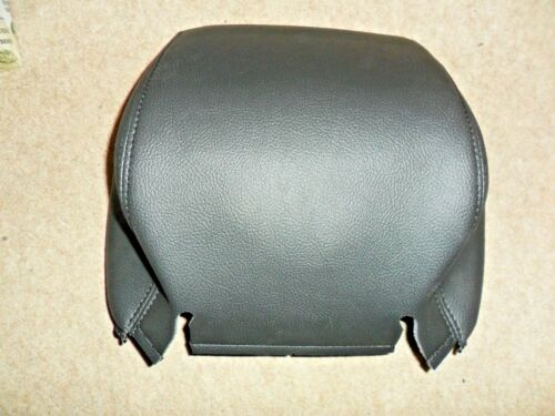 EBONY LAND ROVER DISCOVERY 3 HDA500250PVJ FRONT SEAT LEATHER HEADREST COVER
