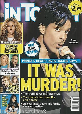 In Touch Weekly magazine Prince Beyonce Chyna Kelly Ripa Michael Strahan