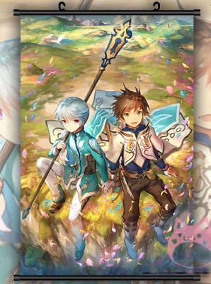 Tales of Zestiria the X Sorey Mikleo Anime Poster Wall Scroll Decor Gif 40*60cm