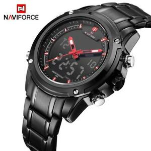 f0533e37b Image is loading NAVIFORCE-Luxury-Brand-Men-Sports-Army-Military-Watches-