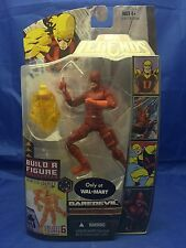 """Marvel Legends Daredevil Red 6"""" MOC Walmart Exclusive Nemesis BAF 2007"""