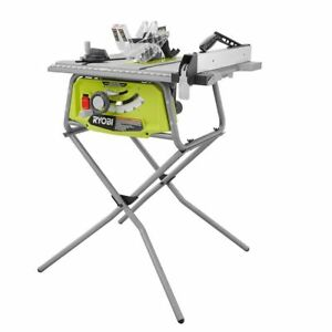Ryobi table saw woodworking folding x stand 10in 15 amp 5000rpm stock photo keyboard keysfo Choice Image