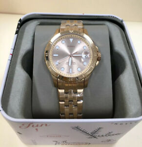 FB-01-Fossil-Three-Hand-Date-Rose-Gold-Tone-Stainless-Steel-Watch-ES4748-NWT